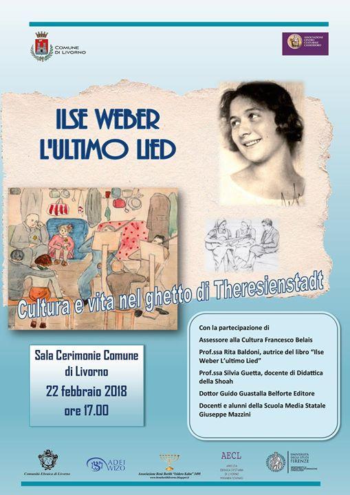 Cultura e vita nel ghetto di Theresienstadt - Ilse Weber