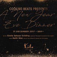 New Years Eve Dinner at Kilo Kallang