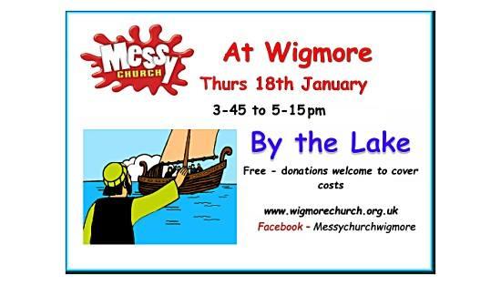 Wigmore Messy Church - January 2018