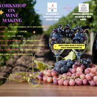 Workshop on WINE Making