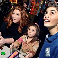 Bustin Loose Holiday Family Night Out at Dave &amp Busters