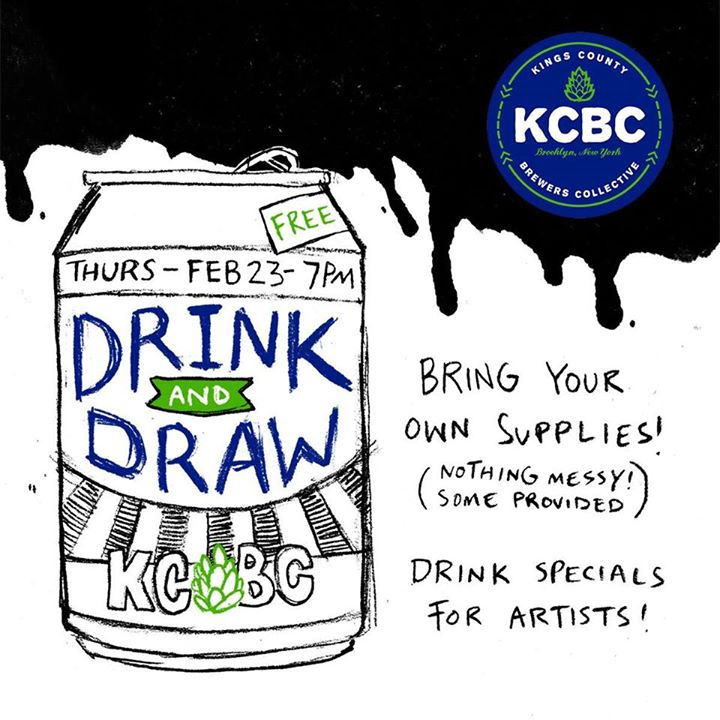 KCBC DRINK and DRAW