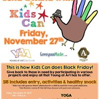 Lend a hand with Kids Can on Black Friday