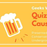 Geeks Who Drink Quiz For A Cause