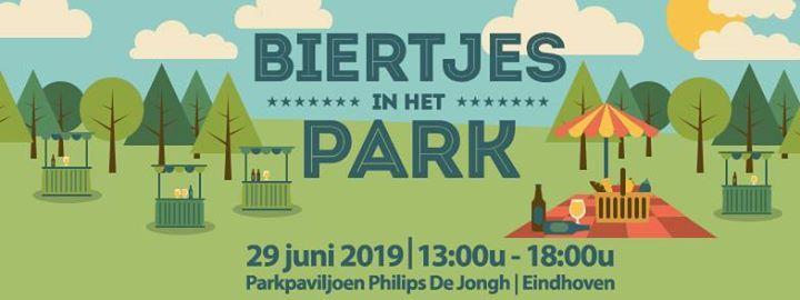 Biertjes in het park