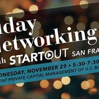 Holiday Networking with StartOut San Francisco