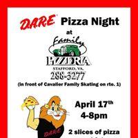 DARE Pizza Night at Family Pizzeria
