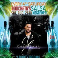 Carlos Xavier at Saturday Mega Party - Aug 26th