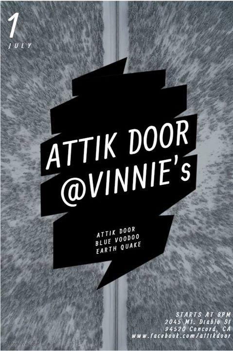 Attik Door at Vinnie\u0027s Concord CA  sc 1 st  AllEvents.in & Attik Door at Vinnies Concord CA   Concord