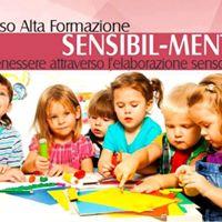 Corso per operatori dell infanzia (0-6 anni) Sensi-Bilmente