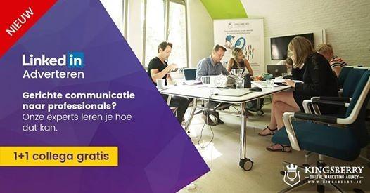 Opleiding LinkedIn Adverteren in Gent