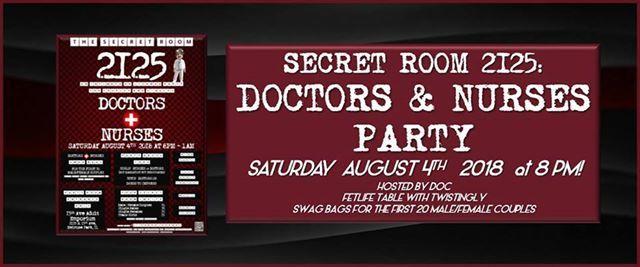 Secret Room 2125 Doctors Nurses Party Party Room Event At 15th Ave Adult Emporium Melrose Park