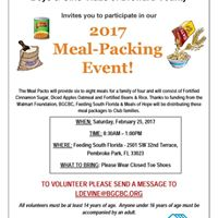 2017 Meal-Packing Event