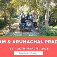 Assam &amp Arunachal Pradesh March tour