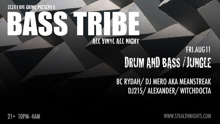 Bass Tribe All vinyl night
