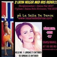 2 Latin Helger med Norgesmester Iris Reder p La Salle de Danse