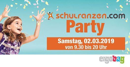 schulranzen.com PARTY mit ergobag