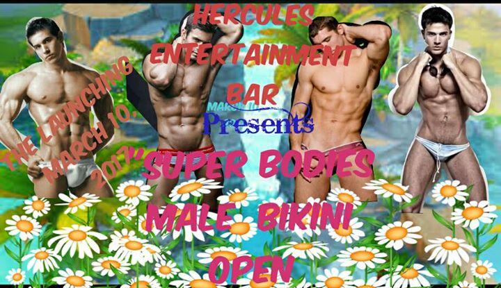Male bikini open