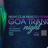Goa Trance Night at Club Mexico