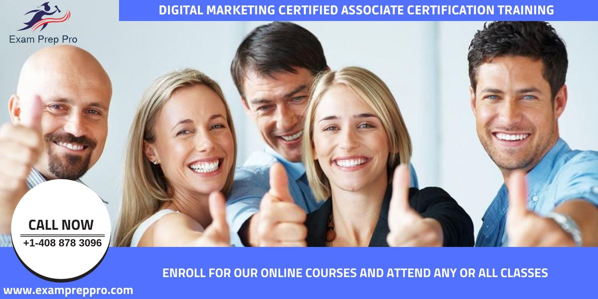 Digital Marketing Certified Associate Training In Pittsburgh PA