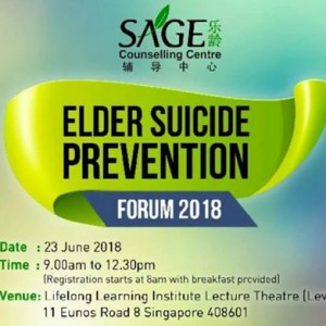 Elder Sucide Prevention Forum 2018