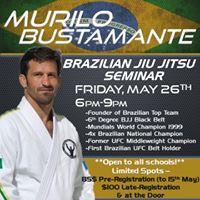 Murilo Bustamante Brazilian Jiu Jitsu Seminar