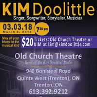 Kim Doolittle &amp Rob Quail at The Old Church Theatre