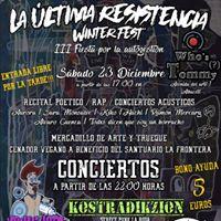Winter FEST La ltima Resistencia 23 DiciembreAlbacete