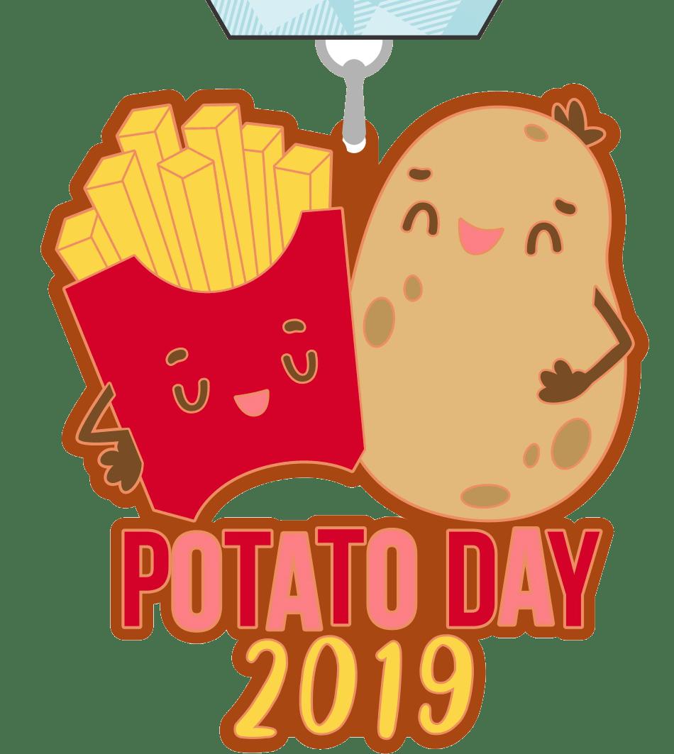 2019 Potato Day 1 Mile 5K 10K 13.1 26.2 -Pittsburgh
