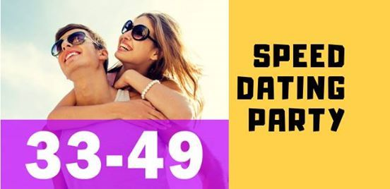 Speed Dating & Singles Party ages 33-49  Canberra
