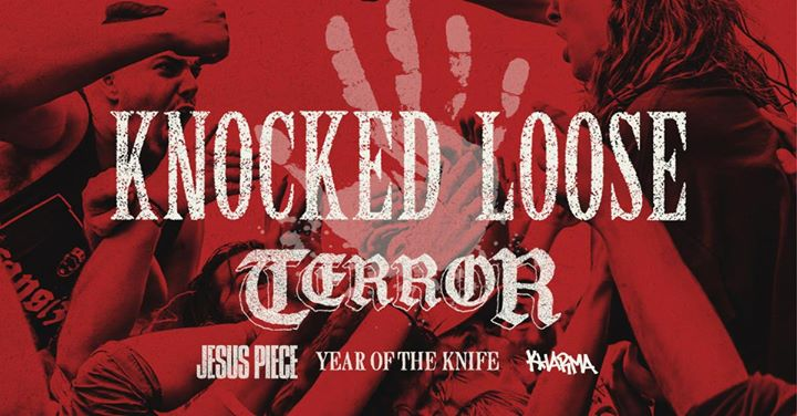 sold out knocked loose with terror jesus piece yotk kharma at
