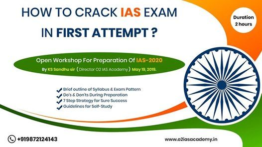 Open Workshop for Preparation of IAS 2020 at O2 IAS Academy