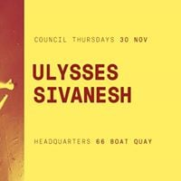Council Thursdays Ulysses &amp Sivanesh