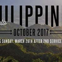 Philippines Trip Info Meeting
