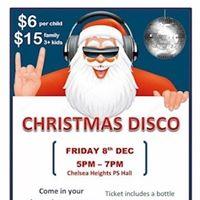 Chelsea Heights Kinder Christmas Disco