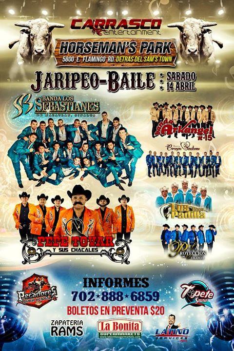 Gran Jaripeo Baile at Horseman's Park, Las Vegas