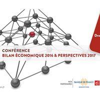 Confrence bilan conomique 2016 - perspectives 2017