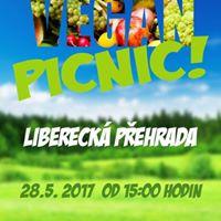 Vegansk picnic na Libereck pehrad