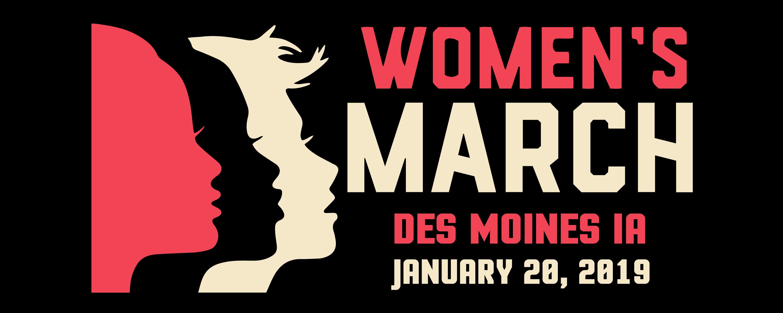 Womens March Des Moines IA 2019 at Des Moines, Des Moines