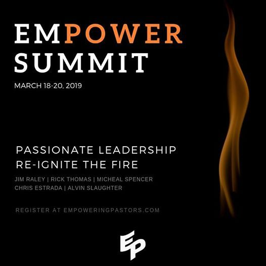 Empower Summit 2019 Passionate Leadership