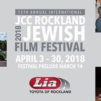 JCC Rockland Jewish Film Festival
