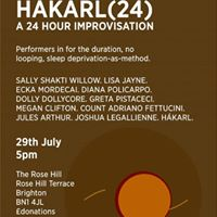 Lost Property Presents Hkarl(24) - A 24 Hour Improvisation