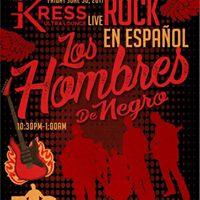 Los Hombres De Negro Live Rock En Espanol