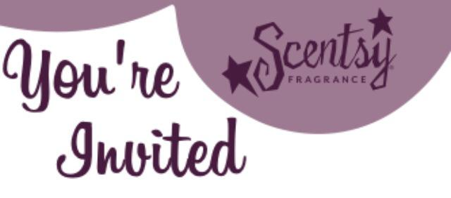 Caitlyns Scentsy Party at 89 salter avenue truro ns – Scentsy Party Invitation