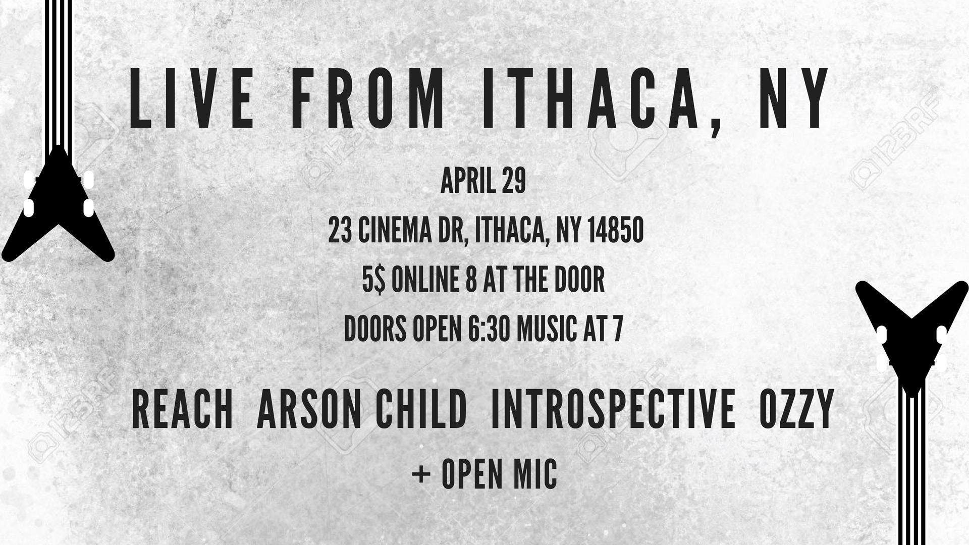 Arson Child &amp Reach - Live From Ithaca NY