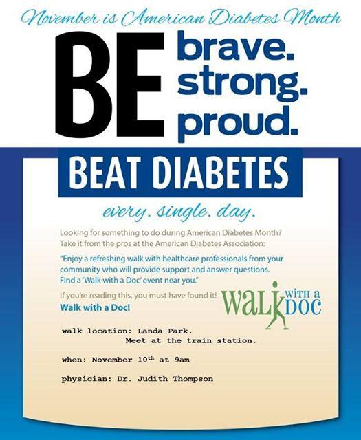 Walk with a Doc: Diabetes at Landa Park Train, New Braunfels