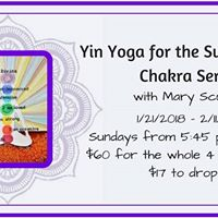 Yin Yoga for the Subtle Body - Chakra Series