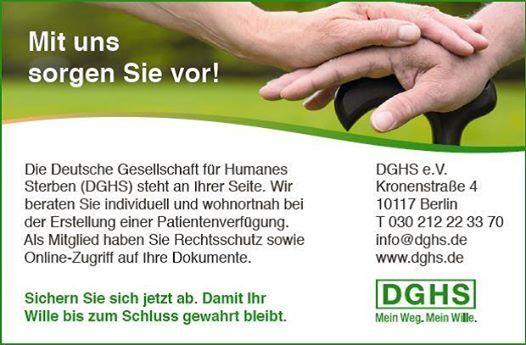 DGHS-Vortrag Patientenverfgung