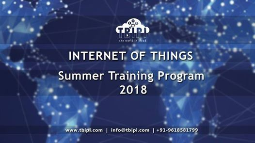IOT Training in our Chennai by TBIPI - Summer Program