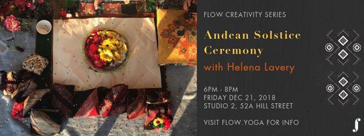 Andean Solstice Ceremony